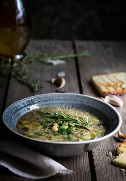zuppa di ceci e fave